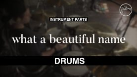 Drums Instrumental – What A Beautiful Name